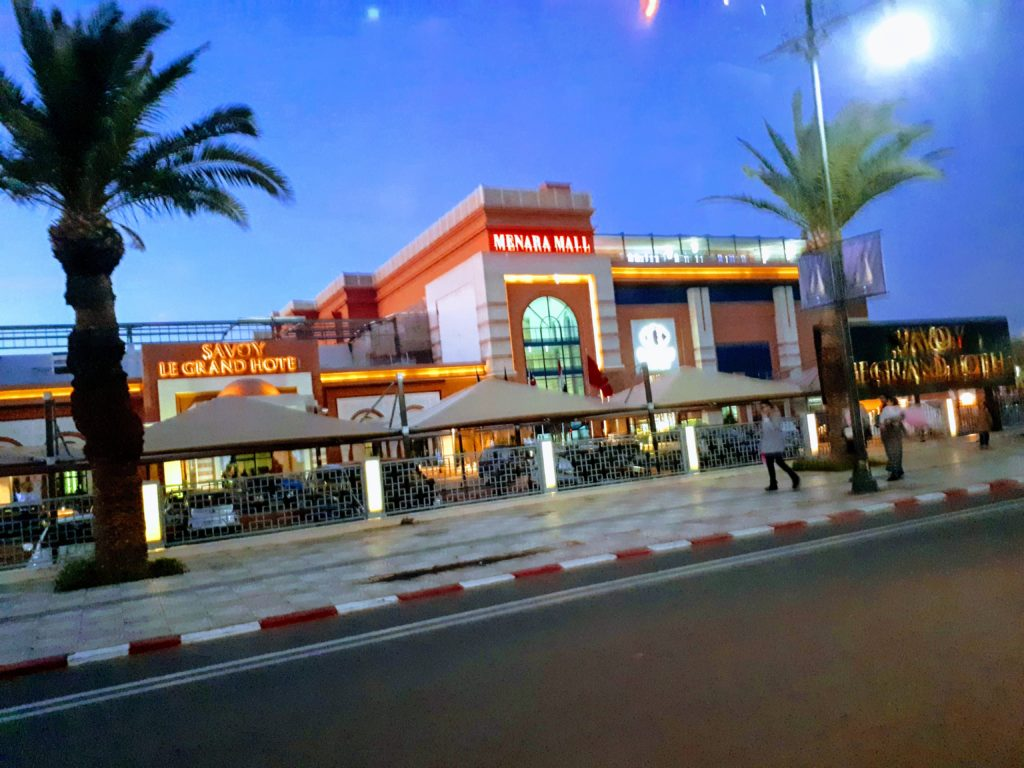 Menara Mall Marrakesh Morocco
